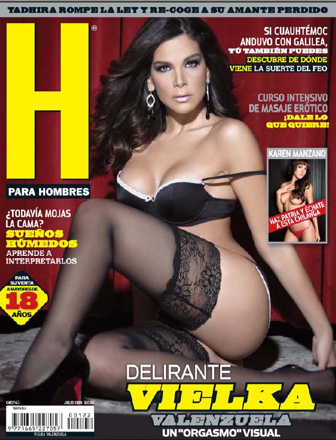 Fotos vielka valenzuela revista h julio 2009 95